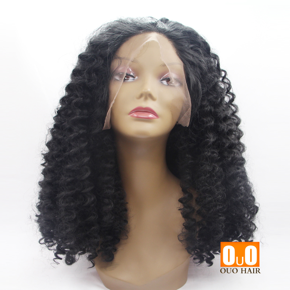 African Women s Wig Curls Before The Natural Lace High-Temperature ... 6869a5b06