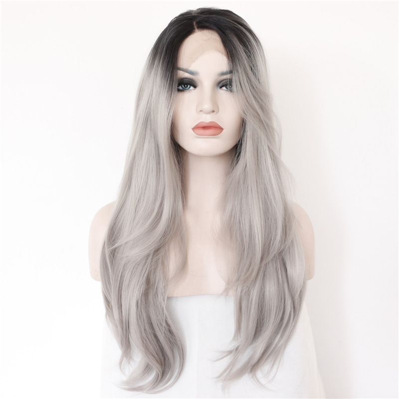 Europe And The United States Wonmen S Fashion Wig Long Hair Body