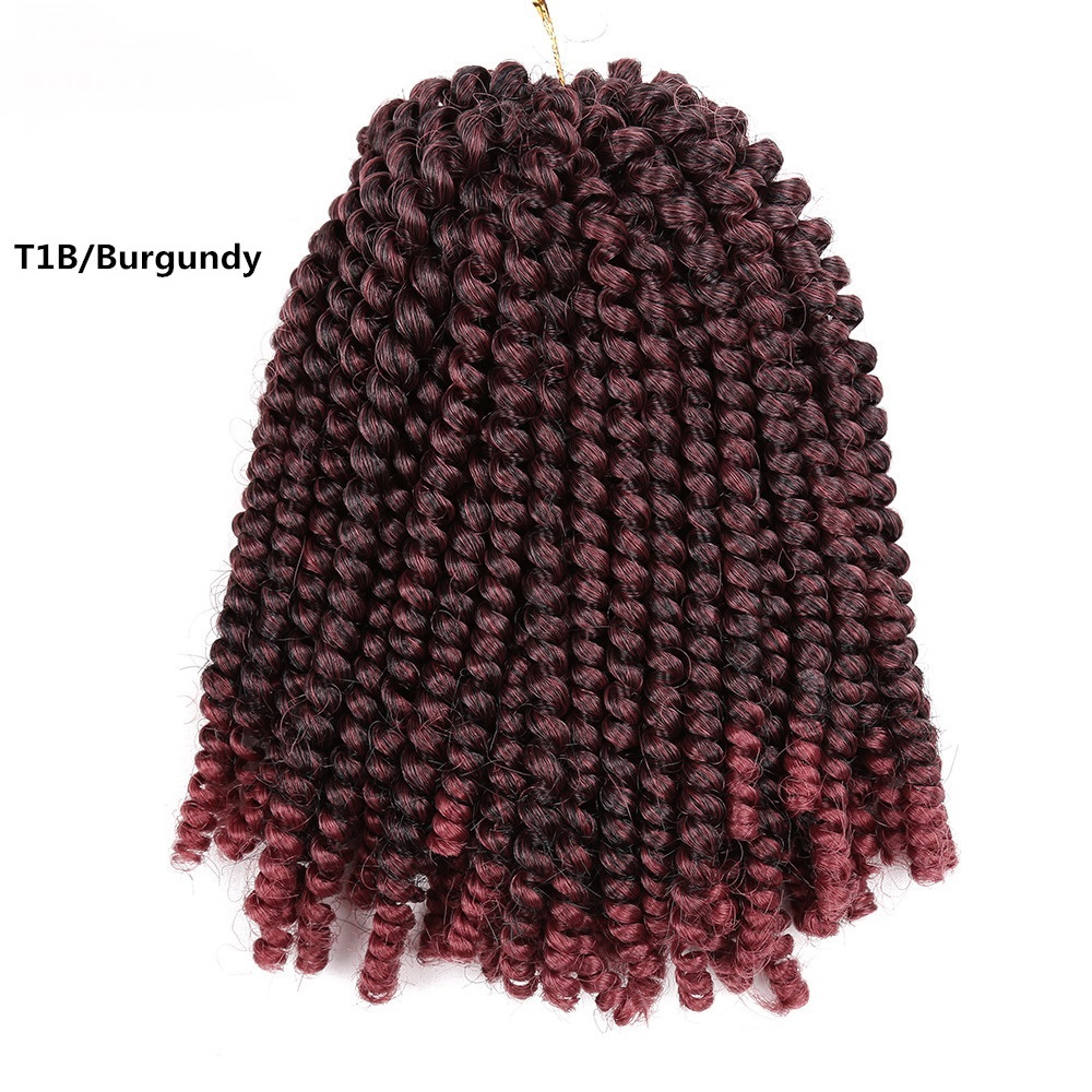 8inch Crochet Braids Jamaican Bounce Synthetic Braiding Hair Short