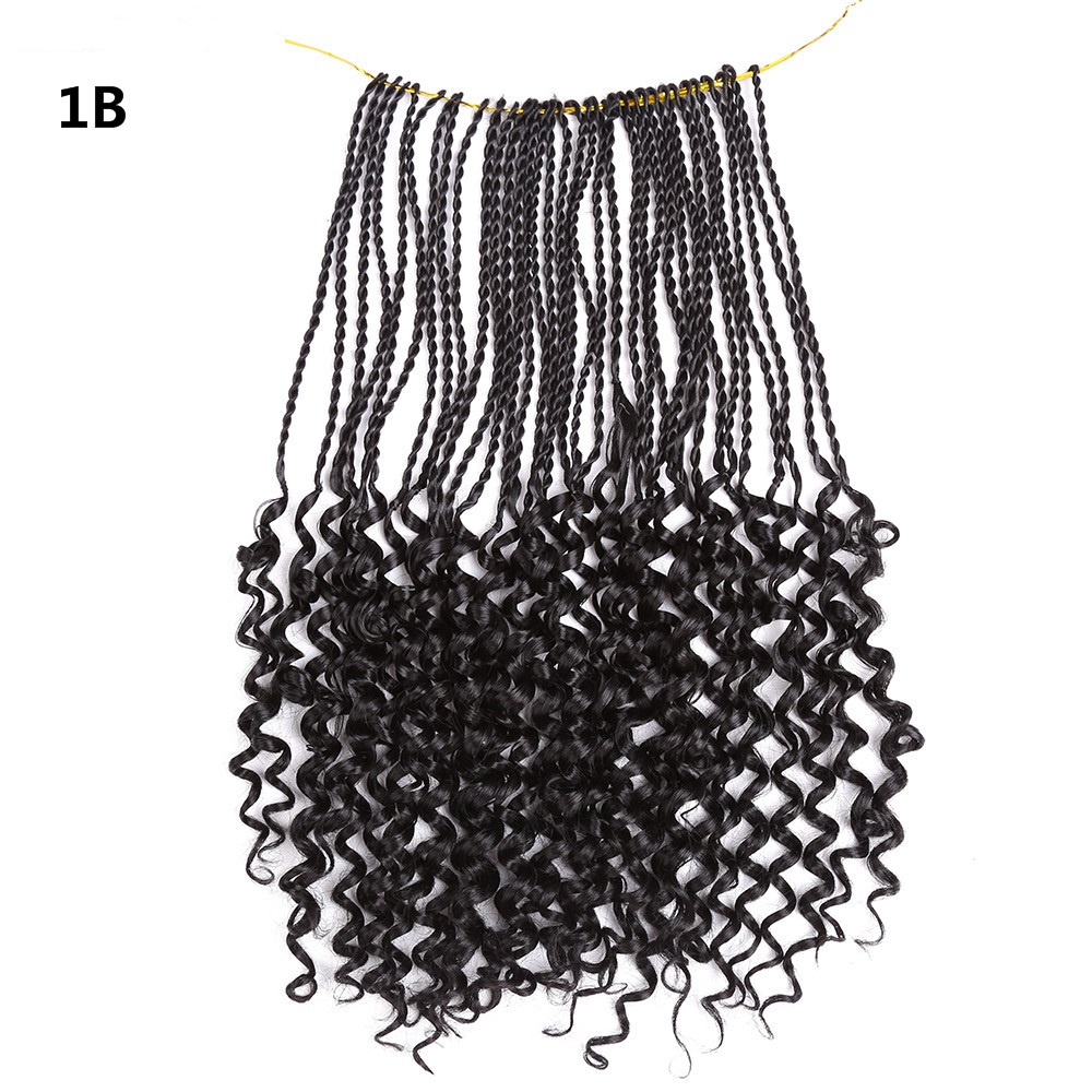 14 18inch Crochet Braids Synthetic Hair Extensions Curly Senegalese