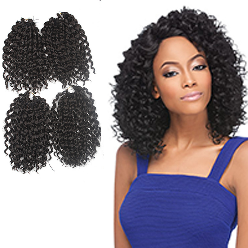 Jerry Curl 9 High Quality 100 Kanekalon Hair Extensions Pre Loop
